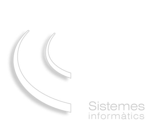 Sistemes Informàtics - Logotip Blac